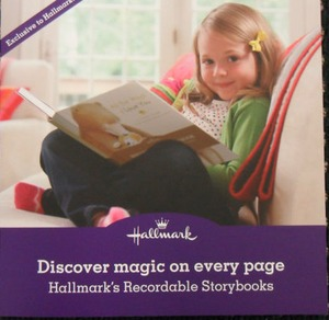 Hallmark Recordable Storybooks Collateral