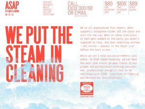 ASAP Steam Cleaning Website