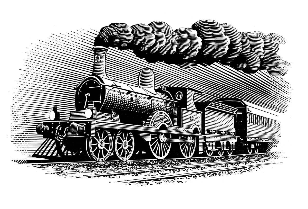 Steam Train - Kevin O'Donnell Portfolio - The Loop