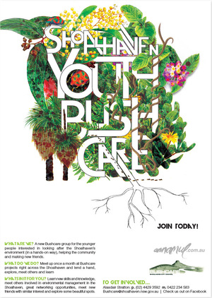 Youth Bushcare poster