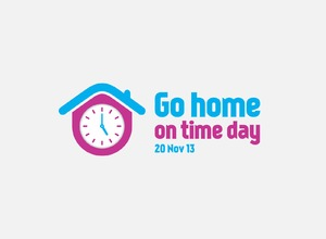 Branding – Go Home on Time Day