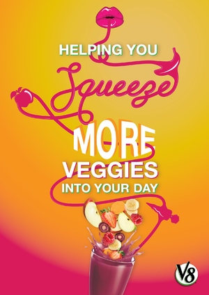 Helping Your Squeeze More Vegetables Into Your Day - Arnott's Branding Posters Pt. 2