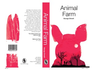 1984 and Animal Farm Book Covers
