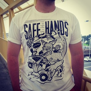 SAFE HANDS FUNDRAISER SHIRTS