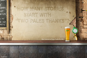 Coopers Pale Ale campaign