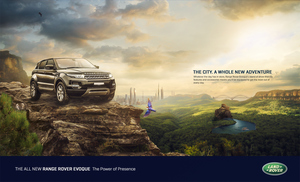 Range Rover Evoque Key Visual