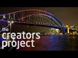 The Creators Project Paints the Harbour Bridge