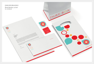 Duke Box Cafe Brand Identity