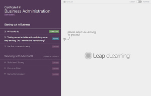 Leap Training Course Page