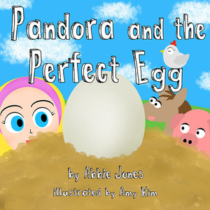 pandora and the perfect egg illustrations