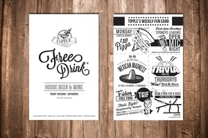 Tipple Free Drink Card