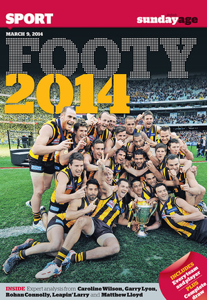 2014 AFL FOOTY MAG (SEASON PREVIEW)