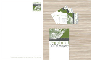 The Natural Home Company corporate identity