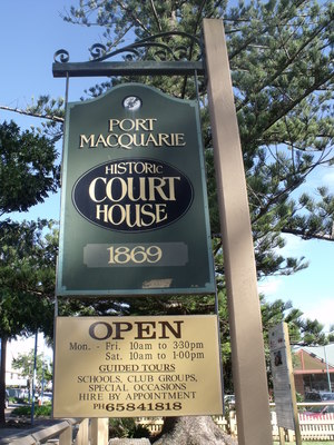 Port Macquarie Historical Courthouse
