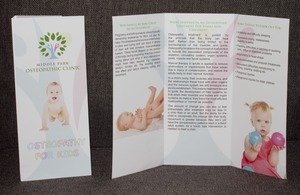 Mums & Bubs Promotional Flyer