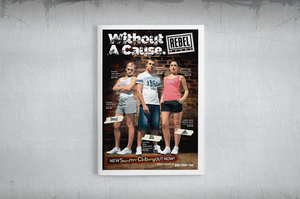 Rebel Sport Apparel Catalogue Design