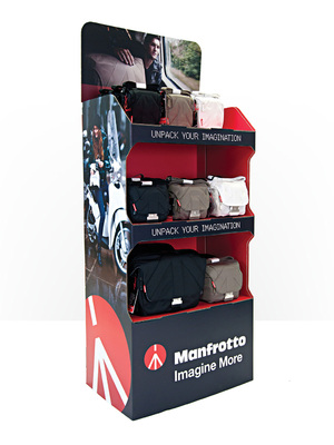 MANFROTTO BAGS POS DISPLAY