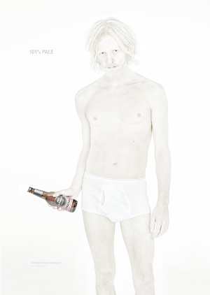 """4 Pines """"Albino"""" Campaign by Gary Sheppard"""