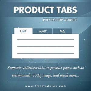 Product Tabs Creator for your PrestaShop Web-store