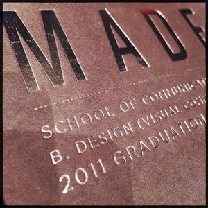 Made: A 2011 Graduation exhibition