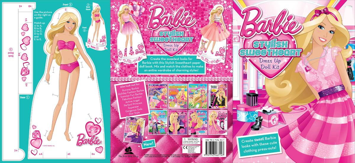 Barbie Dress Up Doll Book My Design Group Portfolio The Loop