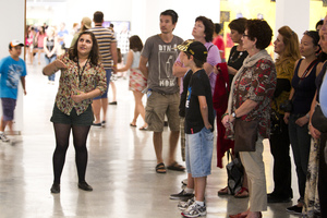 Teen-Guided Tours at the Museum of Contemporary Art Australia