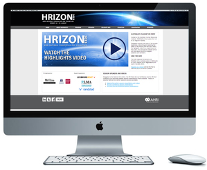 HRIZON2013 website design