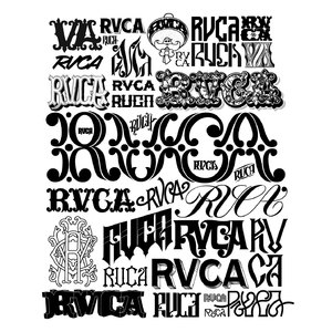 RVCA LOGO ANTHOLOGY