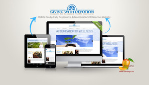Giving With Devotion Foundation Website and Logo Design