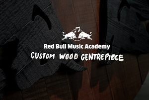 RED BULL MUSIC ACADEMY CUSTOM CENTREPIECE
