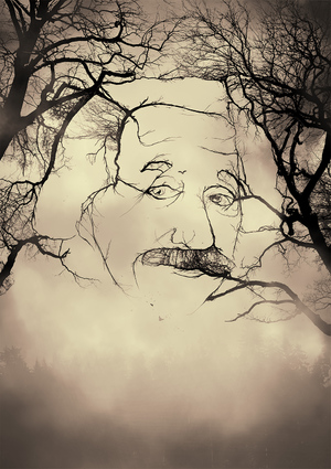 Einstein Illustration