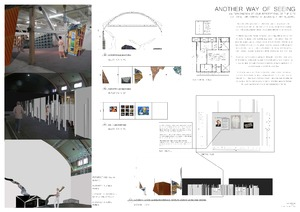 Student Work - Exhibition Design - 'Another Way of Seeing'