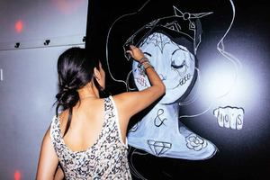 Live Painting - Loot and Law Launch