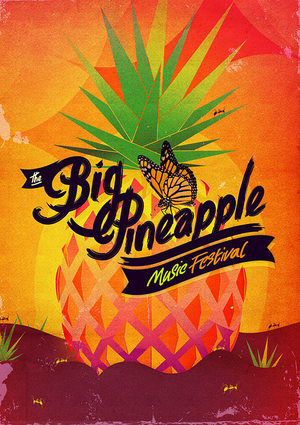 The Big Pineapple Festival Design