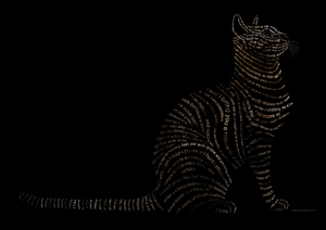 CAT - Typographic Illustration