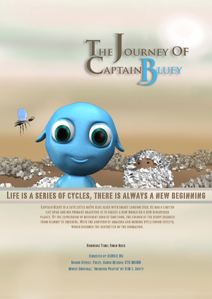 The Journey of Captain Bluey