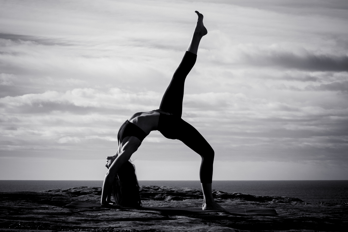 Bec Yoga Photoshoot - Joshua Oldfield Portfolio - The Loop