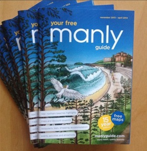Manly Guide magazine cover