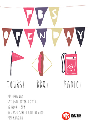 PBS Open Day Poster
