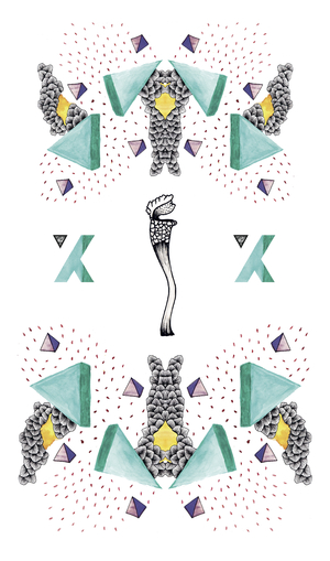 Interview & Illustration Take-over for  XXY magazine