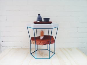 LINZI Stool + Side-table material experimentation