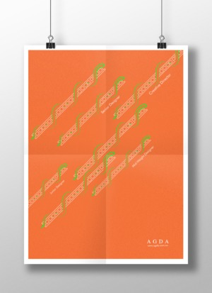 AGDA DOUBLE SIDED POSTER
