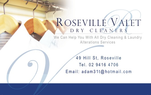 Business card for dry cleaning service laura liu for Dry cleaners business cards