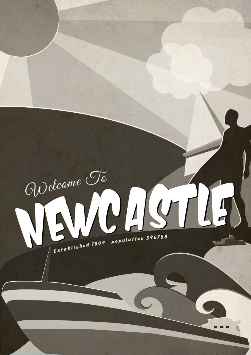Poster design newcastle - About The Project Poster Design