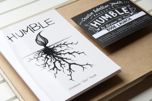 Humble by Abe Nouk Book Launch Invitations
