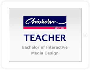CHISHOLM INSTITUTE  - TEACHER