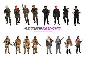 ACTION FASHIONS costume hire