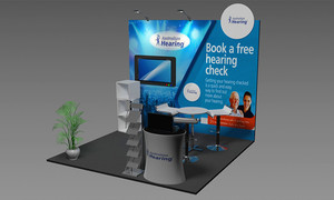 3D Renderings for Exhibition Booth Design