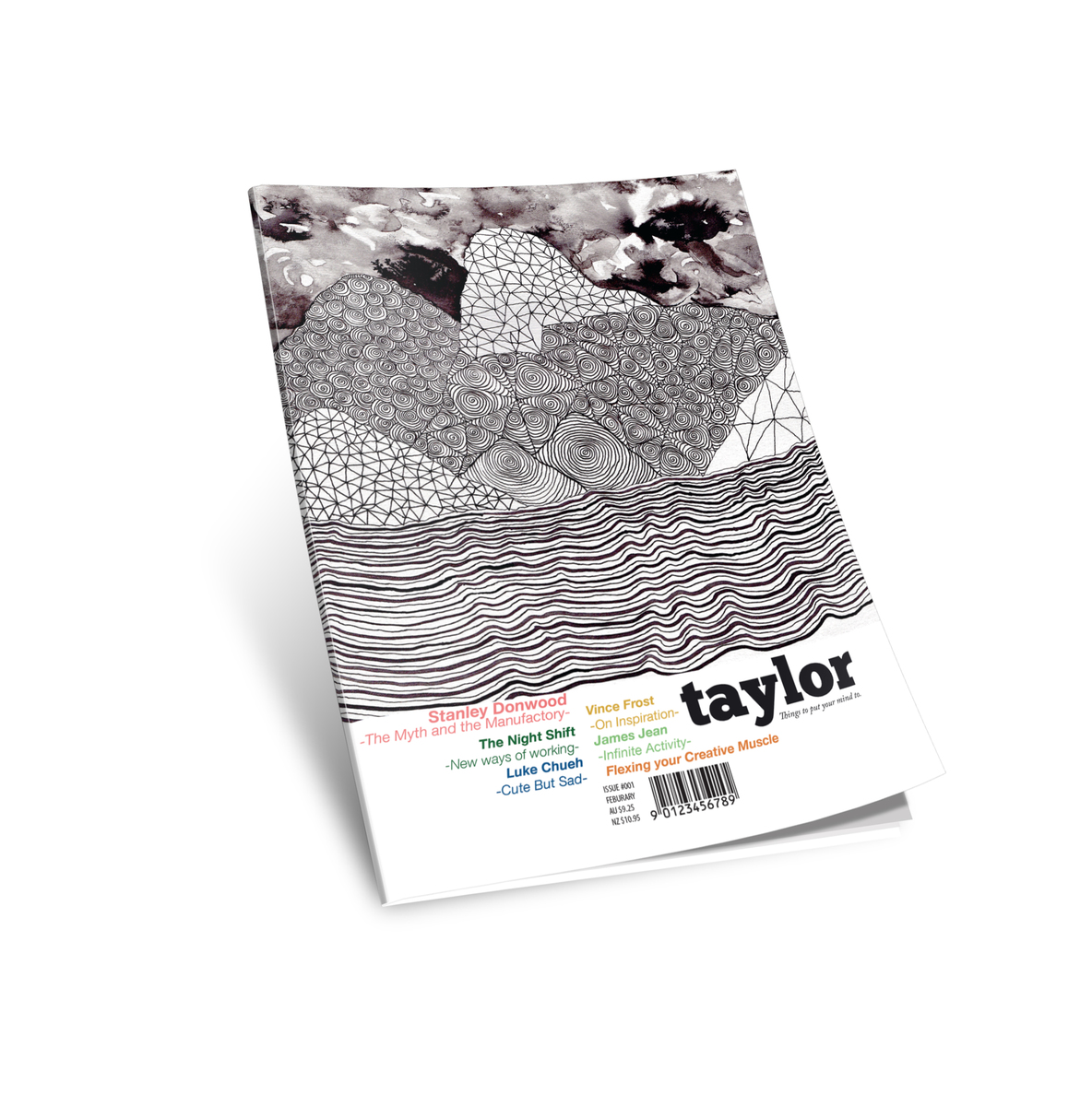 Taylor Magazine Cover mockup - Hannah Carrick Portfolio - The Loop