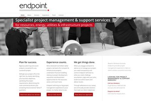 Endpoint website & branding